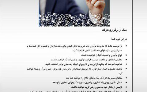 سازمان های نوآور و خلاق- دکتر محمد علی فرجو