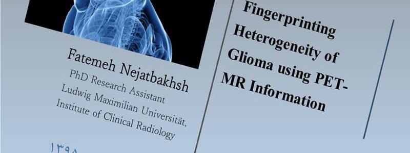 ناهمگونی اثر انگشت گلیوما با استفاده از اطلاعات پت ام آر- فاطمه نجات بخش