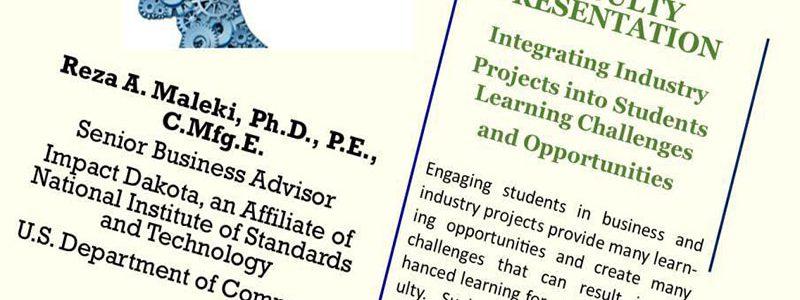 ادغام پروژه های صنعت در چالش ها و فرصت های یادگیری دانش آموزان- دکتر رضا عربیان مالکی