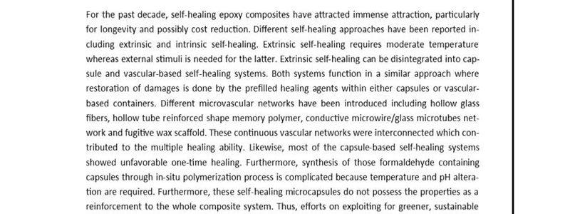 خودبهبودی کامپوزیت های پلیمری- دکتر پوریا پاسبخش