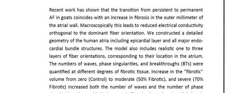 مدلسازی سه بعدی فیبریلاسیون دهلیزی- دکتر علی قراویری