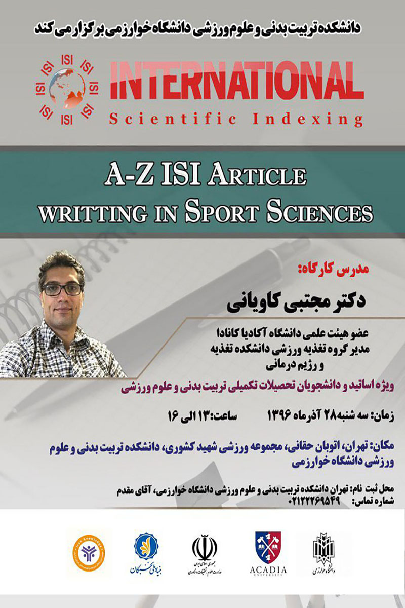 A-Z ISI Article Writing in Sport Sciences