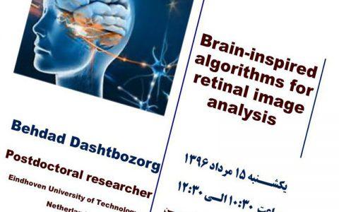 الگوریتم های الهام گرفته از مغز برای تجزیه و تحلیل تصویر شبکیه- دکتر بهداد دشت بزرگ