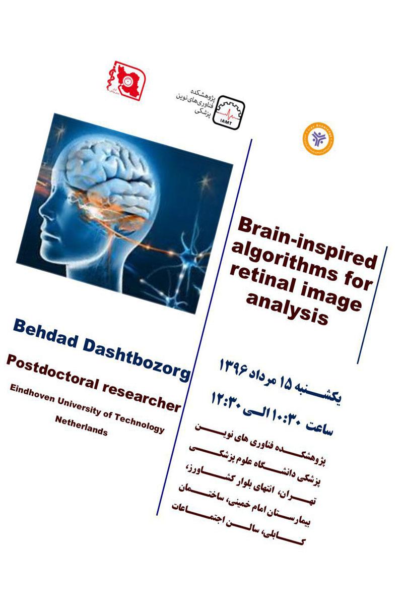 Brain-inspired algorithms for retinal image analysis