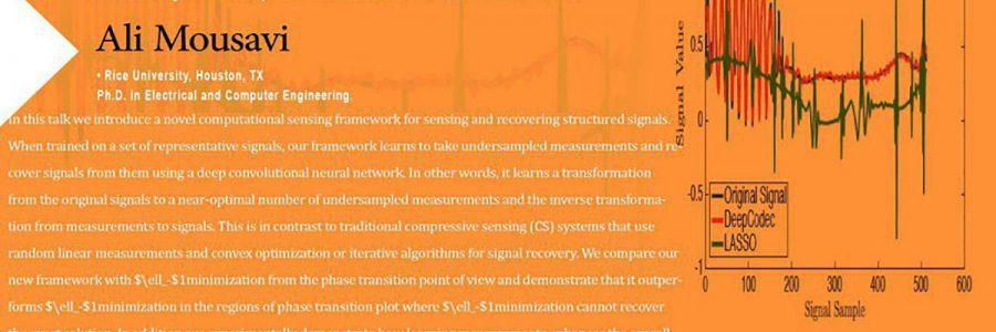 دیپ کدک سنجش تطبیقی و بازیابی از طریق شبکه عصبی عمیق همرفتی- دکتر علی موسوی