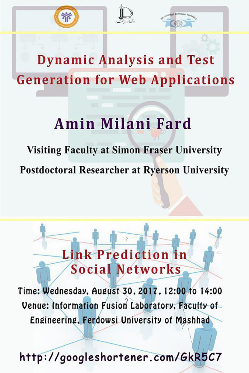 Dynamic Analysis and Test Generation for Web Applications Link Prediction in Social Networks