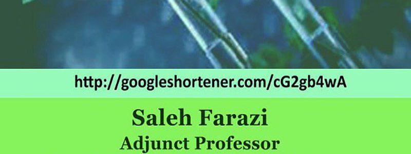 روند جهانی مديريت نوآوری در صنعت بيوتكنولوژی دارويی- دکتر صالح فرازی