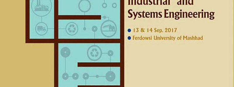 سومین کنفرانس بین المللی مهندسی صنایع و سیستم ها
