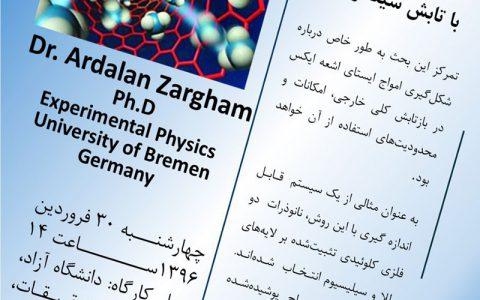 تعیین ساختار نانو ذرات با تابش سینکروترون- دکتر اردلان ضرغام