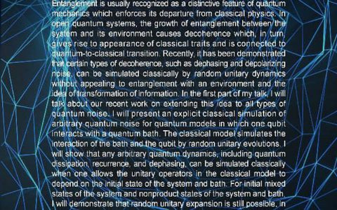 شبیه سازی کلاسیک از سر و صدا کوانتومی دلخواه و اثرات کاهش دهنده خالص در Josephson Junction- دکتر سید محمدحسن هل اتایی