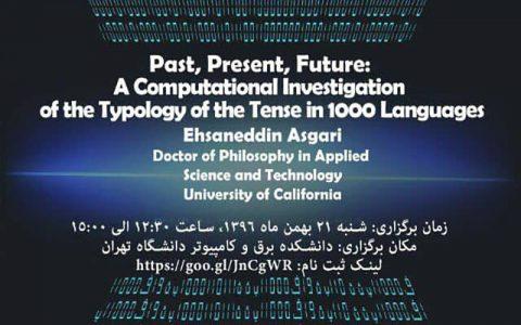گذشته، حال، آینده: بررسی محاسباتی از نوع شناسی تنش به 1000 زبان- دکتر احسان الدین عسگری