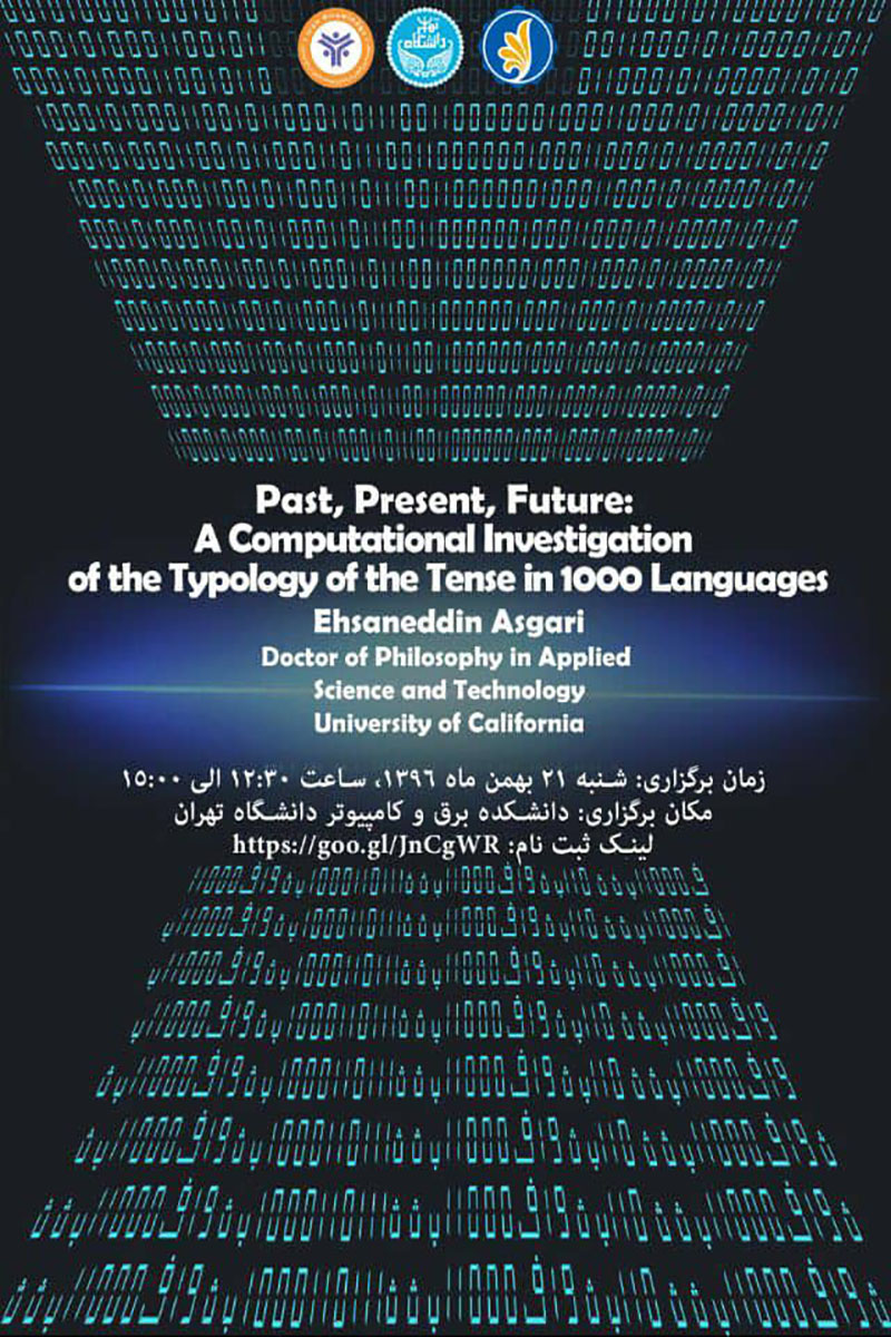 past, Present, Future A Computational Investigation of the Typology of the Tense in 1000 Language