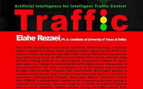 هوش مصنوعی برای کنترل ترافیک هوشمند-الهه رضایی