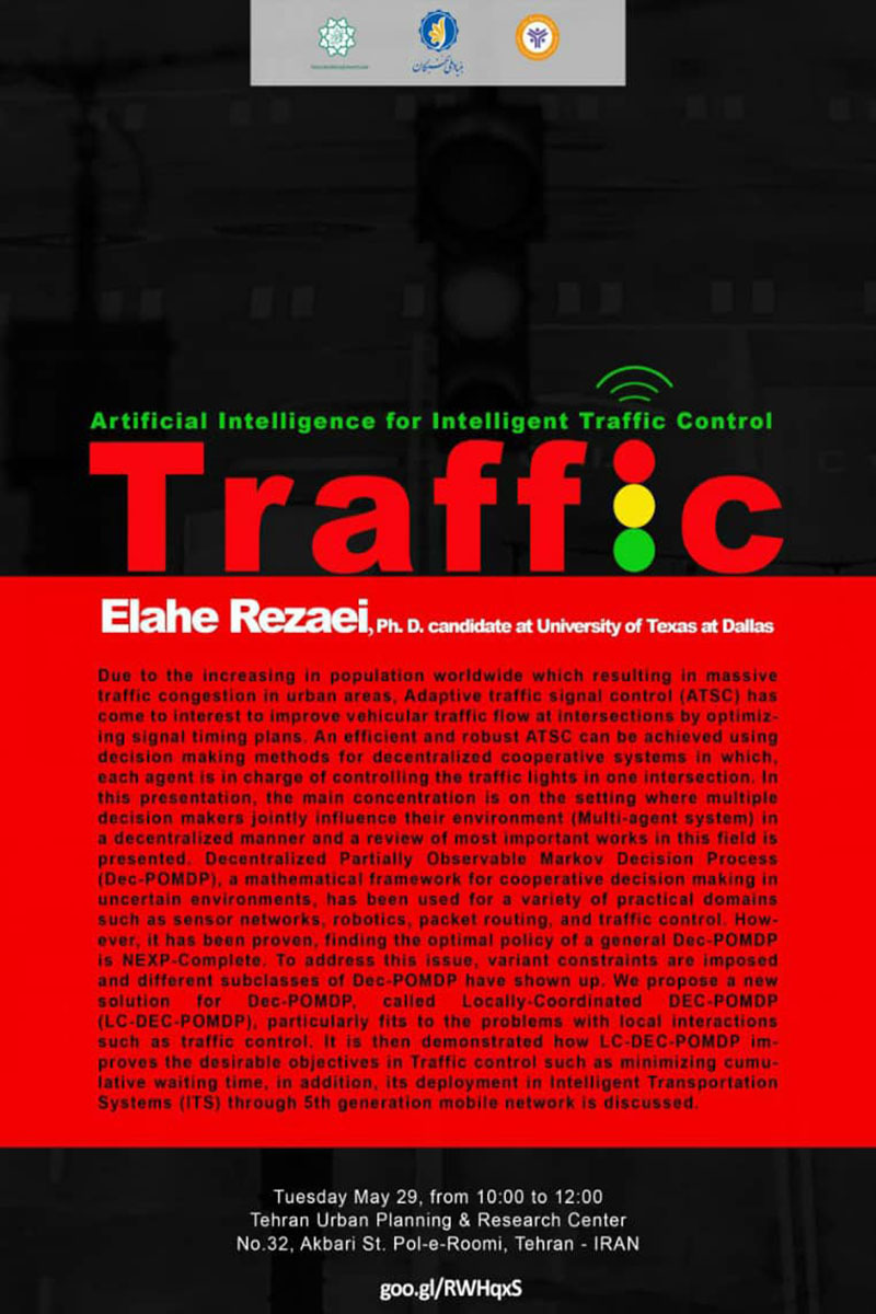 artificial Intelligence for Intelligent Traffic Control
