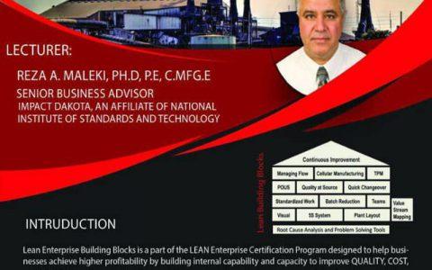 بلوک های ساختمانی Lean Enterprise ، ابزارها و سیستم های افزایش بهره وری- دکتر رضا عربیانمالکی