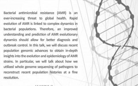 رویکردهای ژنومی جدید برای مطالعه دینامیک تکاملی مقاومت ضد میکروبی- دکتر دانش مرادی گراوند