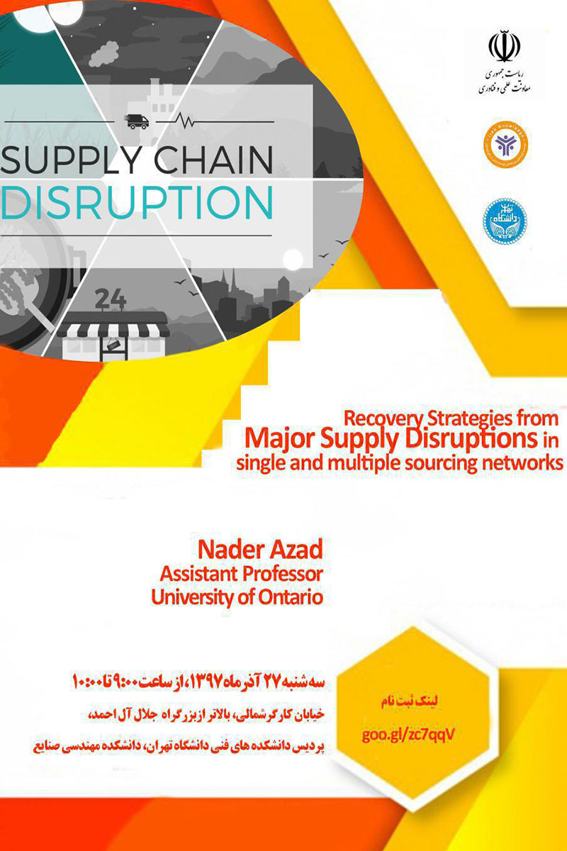Recovery Strategies from major supply disruptions in single and multiple sourcing networks