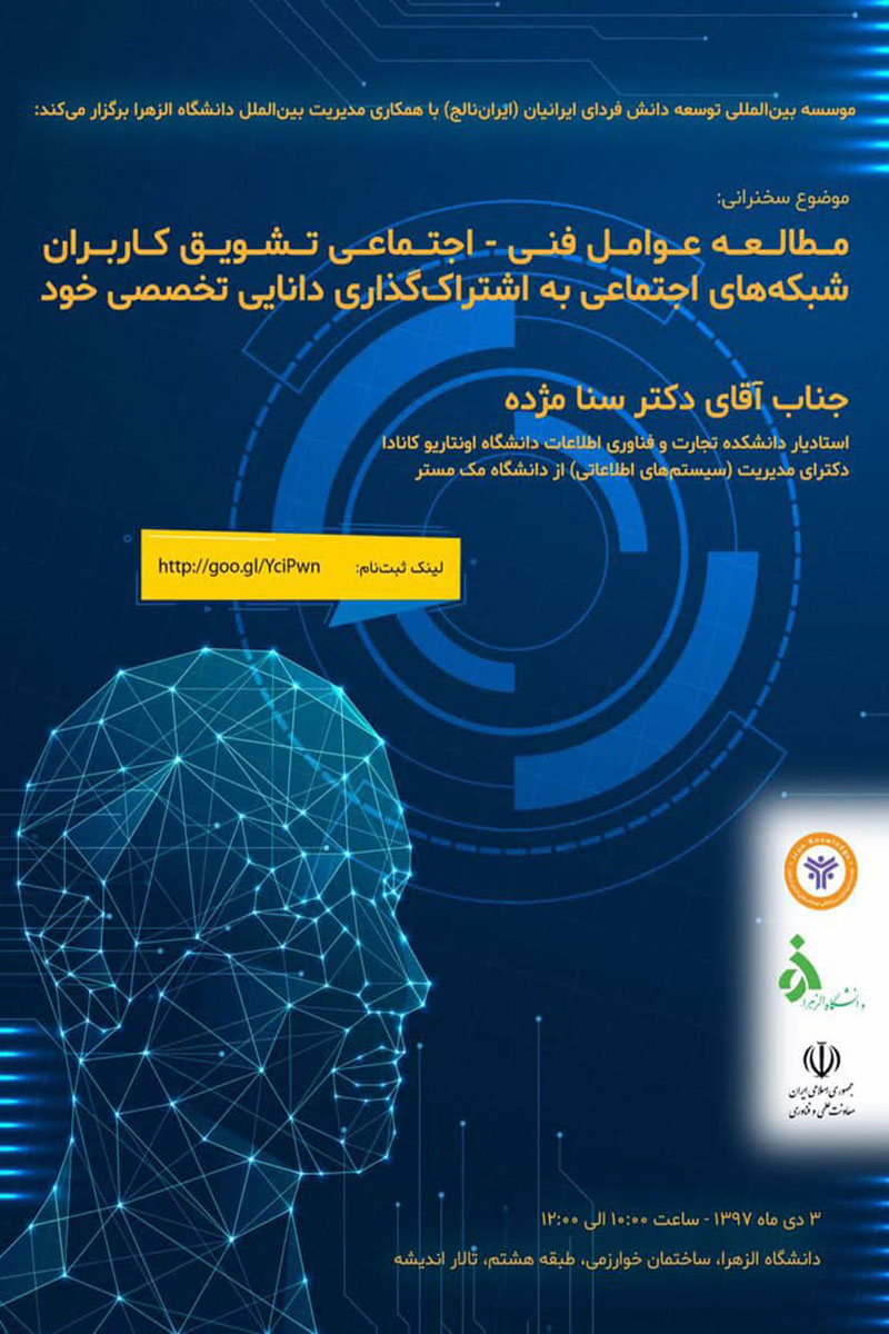 Study of socio-technical factors Encourage social network users to share their specialized knowledge