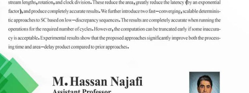 رویکردهای قطعی همگرا سریع برای محاسبات تصادفی- دکتر محمدحسن نجفی