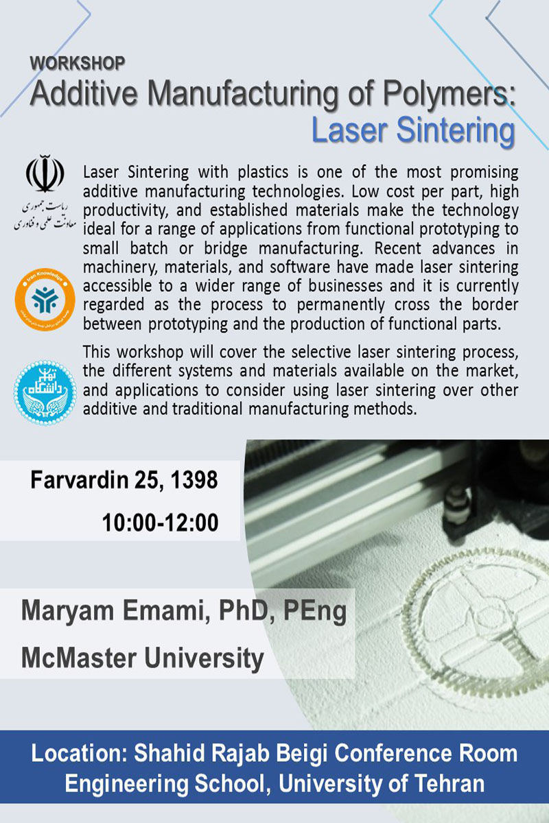 Additive Manufacturing of Polymers Laser Sintering Technology