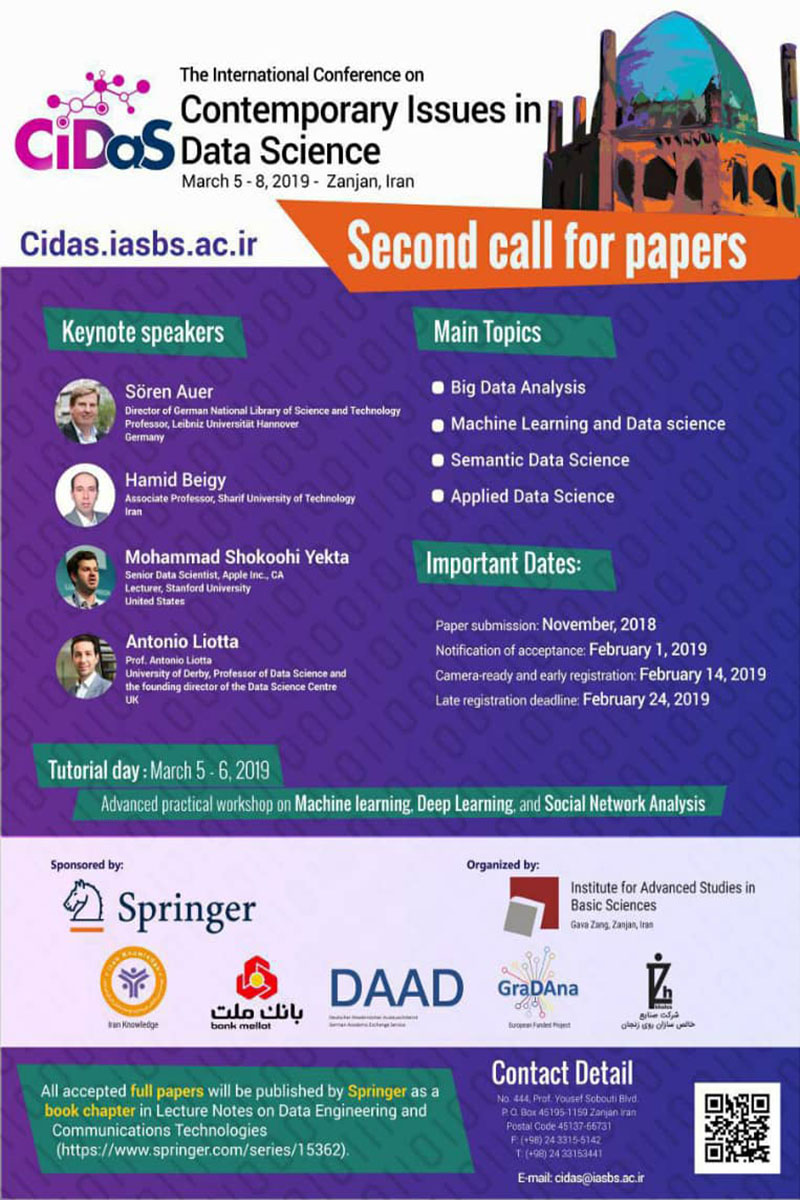 International Conference on New Topics in Data Science